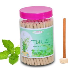 Betala Fragrance Tulsi Flavour Basil Dhoop Stick Bamboo Less Agarbatti Incense Stick for sales buy online